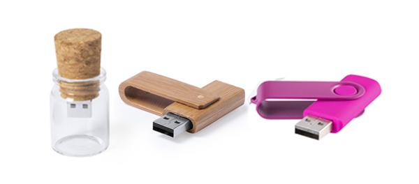 Memorias USB Personalizadas y Pendrives Publicitarios