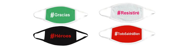 Mascarillas personalizadas de tela con tu logo